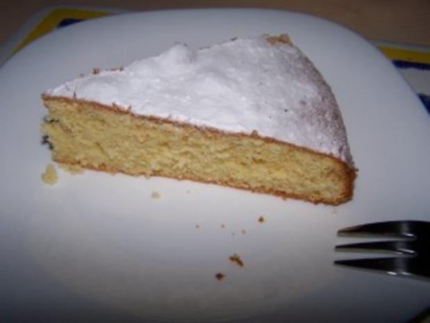 Zitronen-Ricotta-Torte - Rezept