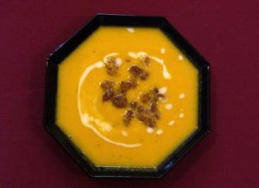 Rezept: Karotten-Ingwer-Suppe (Henry Gründler)