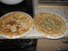 Pfannkuchen mit  Füllung - Rezept