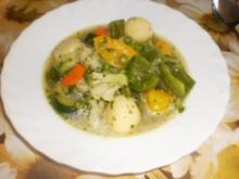 Gemüse-Eintopf mit Knödeln - Rezept
