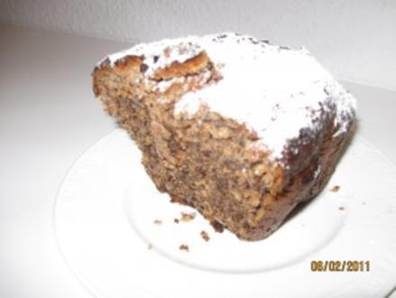 Amaretto - Nusskuchen - Rezept