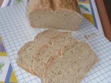 Brot: Weißbrot mit Vollkornanteil - Rezept