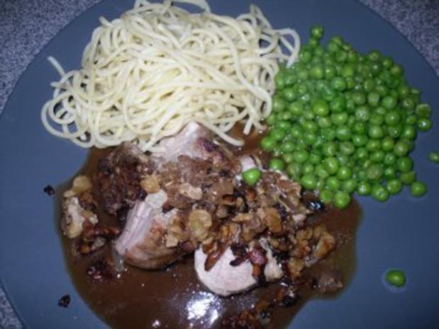 Karamelisiertes Walnuss-Zwiebel Schweinefilet - Rezept - Bild Nr. 2
