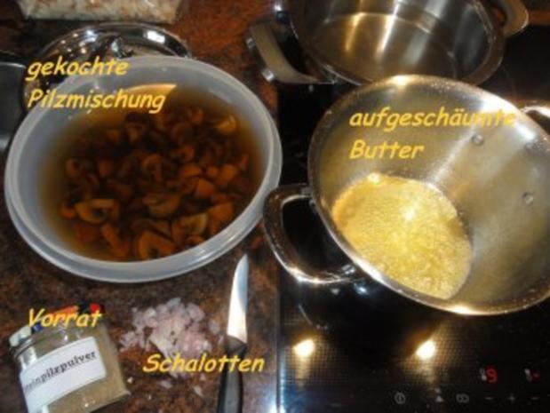 Sauce:  MISCHPILZ-SAHNE-SAUCE - Rezept - Bild Nr. 2