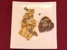 Rinderfilet und Steinpilzravioli an Trüffel (Frank Schmidt) - Rezept