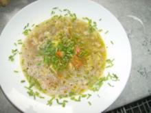 Gemüse Fisch Suppe - Rezept