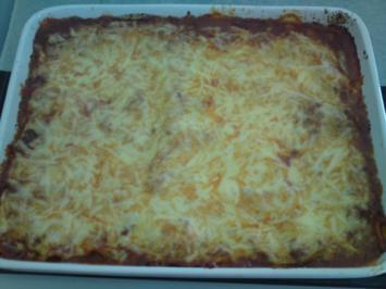 Rezept: Petri's Lasagne