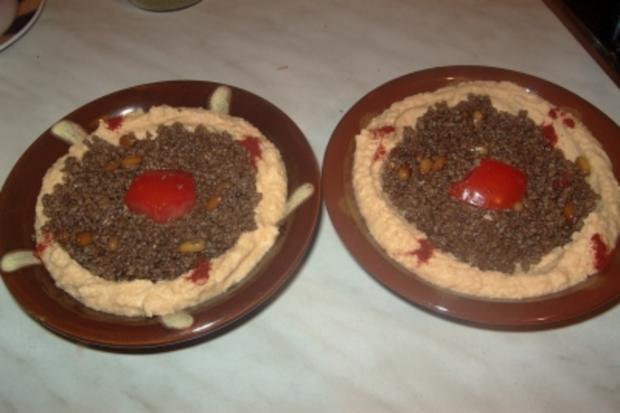 Hommos, Kichererbsen-Pürree - Rezept