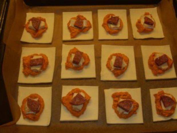 Pikante Kuchen: Herzhafte Blätterteig-Häppchen - Rezept - Bild Nr. 3