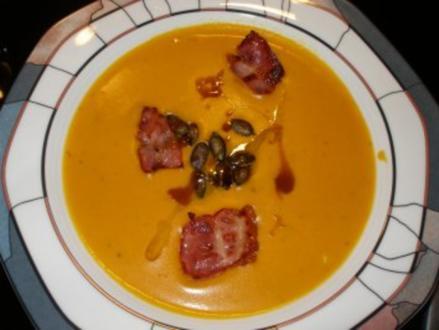 Kürbis-Fenchel-Apfel Suppe - Rezept