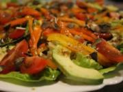 """Salatteller """"Gemüsewiese"""" - Rezept"""