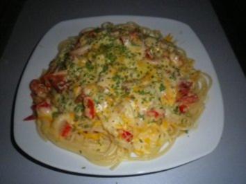 Kräuter - Spaghetti - Rezept