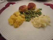 Hühnerbällchen mit Karfiol und Kräutern - Rezept