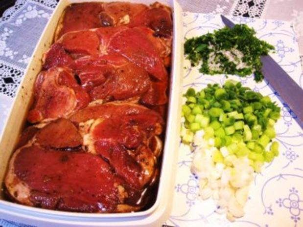 Kotelett vom Lamm - fein mariniert ... - Rezept - Bild Nr. 2