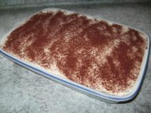 Tiramisu - ohne Ei - Rezept
