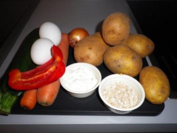 Gemüse - Kartoffel - Rösti - Rezept - Bild Nr. 5