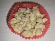 Apple-Crumble-Muffins /Apfel-Streusel-Muffins - Rezept