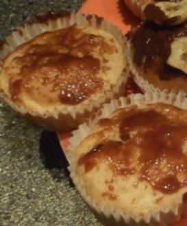 Apfel- Zimt- Ingwer Muffins - Rezept