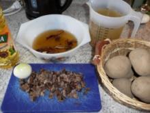 Eintopf:  Kartoffeleintopf mit Steinpilzen - Rezept
