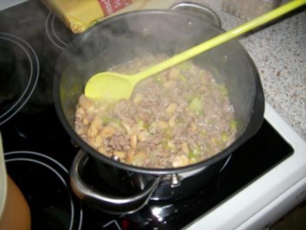 Käse-Hack-Lauch-Suppe - Rezept - Bild Nr. 4