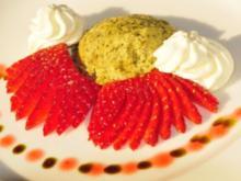 Kürbiskern-Wasabi-Parfait - Rezept