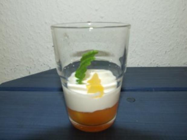 Multivitaminsaft-Soße (Nachtisch) - Rezept