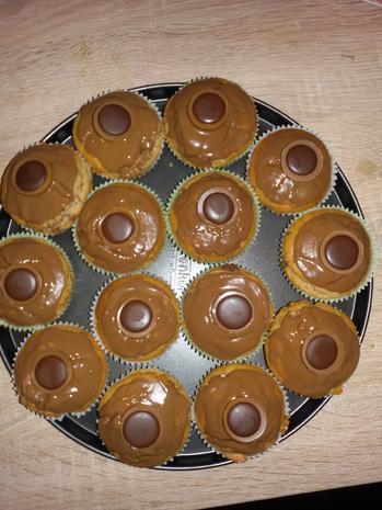 Nuss - Muffins mit Toffifee - Rezept - Bild Nr. 3873