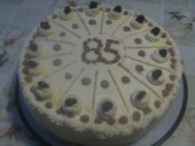 Buttercrem-Torte - Rezept