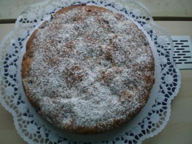 Kirschkuchen mit Schokotröpfchen - Rezept - Bild Nr. 2
