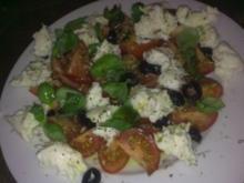Italienischer Tomatensalat - Rezept