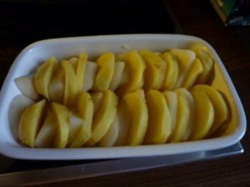 Kartoffeln-Birnen-Gratin - Rezept