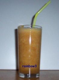Getränk: Apfel-Nektarinen-Drink - Rezept
