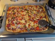 Leo´s Knusperpizza - Rezept
