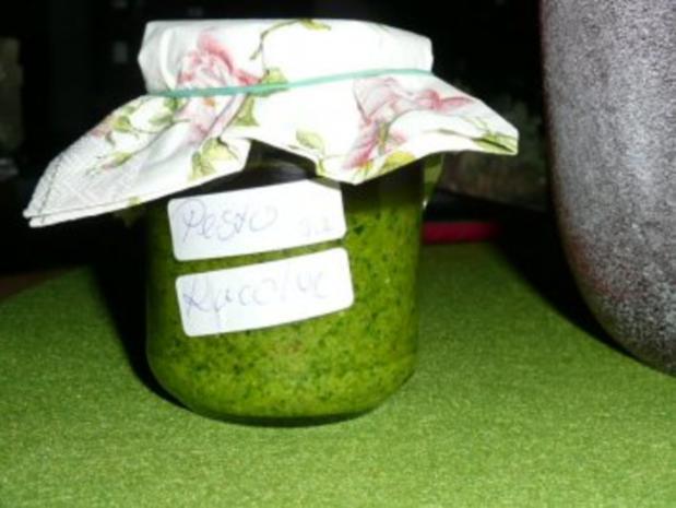 Pesto Rucola - Rezept