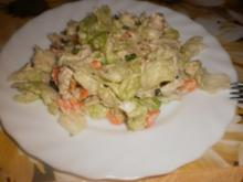 Gemüsesalat mit Hähnchenbrust - Rezept