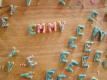 -Geburtstag- Buchstabenkekse für Emmy - Rezept