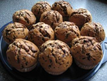 Schokina-Bananen-Muffins - Rezept