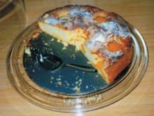 Pfirsich-Haferflockenkuchen - Rezept