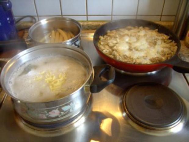 Rahmgeschnetzeltes mit Parmesan - Rezept - Bild Nr. 6
