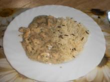 Hähnchen in Cream-Sherry mit Champignons - Rezept