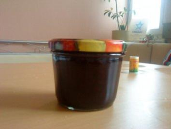 Rezept: Kirsch-Heidelbeere-Marmelade