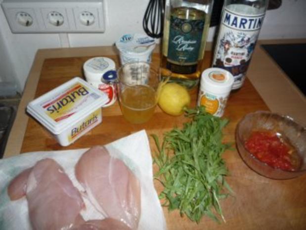 Hühnerbrust geschnetzelt in Estragonsauce - Rezept - Bild Nr. 2