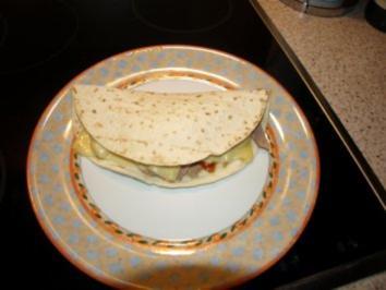 Tortilla als Snack - Rezept