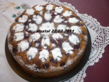 Kokos-Kirschkuchen - Rezept