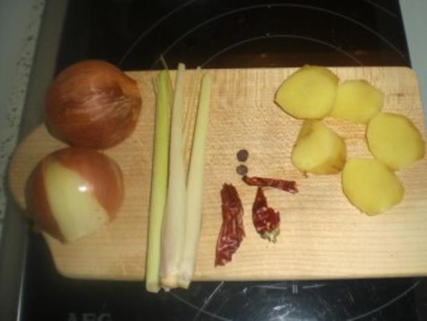 Scharfe exotische Rindssuppe - Rezept - Bild Nr. 2