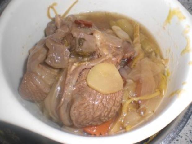 Scharfe exotische Rindssuppe - Rezept - Bild Nr. 5