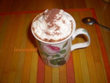 Heiße Schokolade für Erwachsene - Rezept