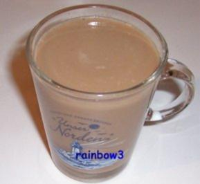 Rezept: Getränk: Gewürzter Milch-Kaffee mit Schuss
