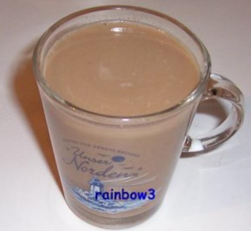 Getränk: Gewürzter Milch-Kaffee mit Schuss - Rezept
