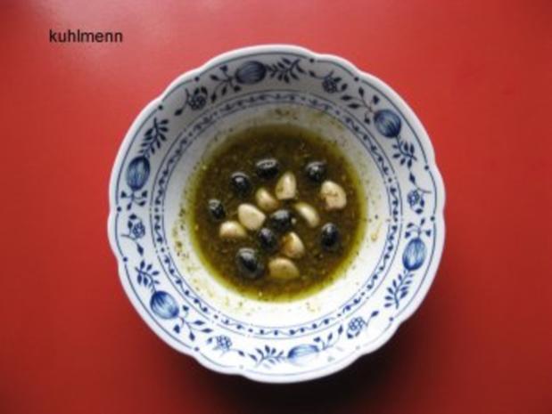 Salatschüssel  mediterran - Rezept - Bild Nr. 3